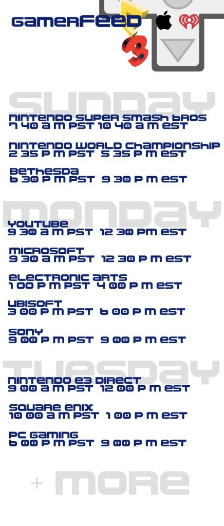 e3-week-schedule