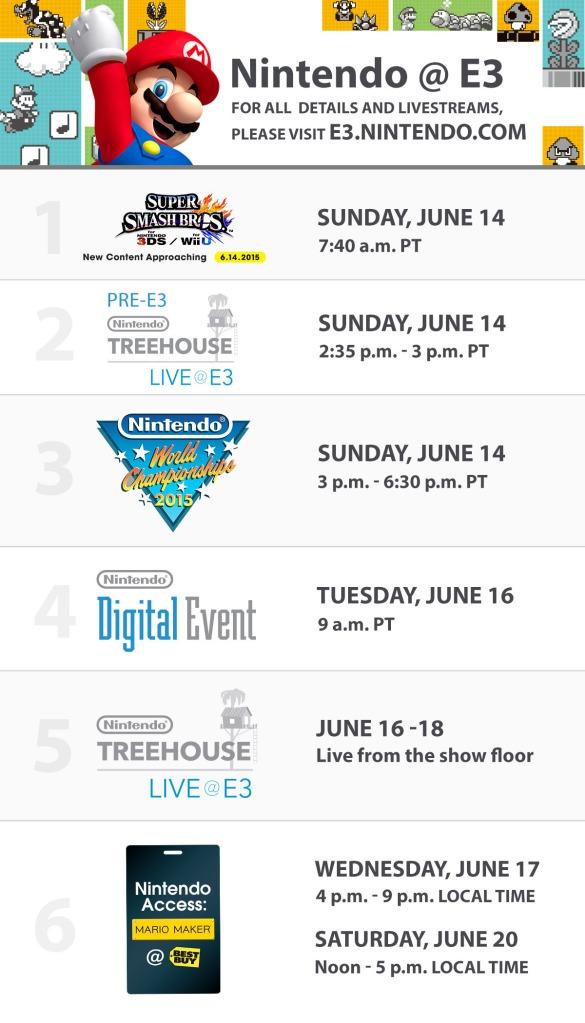 Nintendo-E3-2015-Schedule